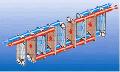 """Распределение потоков в пластинчатом разборном двухходовом теплообменнике """"Дан"""""""