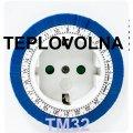 Rozetochny timer, Feron, TM32, cyclic, daily, electromechanical compact 61923 3500W/16A timer