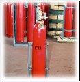 Модулі газового пожежогасіння