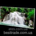 Инфракрасный стеклокерамический панельный обогреватель HGlass IGH 6012 фотопечать 800/400 Вт
