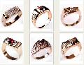Печатки мужские, золото Au 585 пробы с драгоценными и полудрагоценными камнями