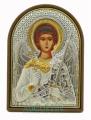 Икона Ангел Хранитель (основа пластик золотой декор) 4*5,6см
