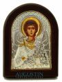 Икона Ангел Хранитель (основа дерево золотой декор) 5,5*7см