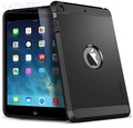Противоударный чехол SGP Tough Armor Satin Black для iPad Mini/Mini Retina