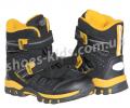 Детские термоботинки Super Gear А 9135 (черно-желтые)
