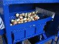 Машины моечные, комплекс оборудования для очистки лука