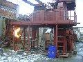 Установка по переработке изношенных автомобильных шин методом термохимической деструкции ( tire and organic  waste recycling plant)