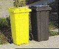 Баки пластиковые для сбора мусора 120 л