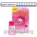 Rohto Nano Eye розовые нанокапли, не вытекающие из глаз, для снятия покраснений 100138