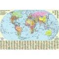 Карта Политическая карта мира 65*45см A2 Картон М1:51000000 Фото, Изображение Карта Политическая карта мира 65*45см A2 Картон М1:51000000