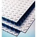 Steel sheets with a lentil corrugation