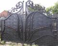 Ворота для дома и дачи кованые