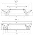 Манжеты для пневматических устройств ГОСТ 6678-72