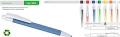 Эко-ручка синяя