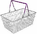 Equipment for grocery stores. Baskets metal