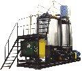 Установка модифікації бітумів полімерами. Розроблена й проводиться Заводом УКРБУДМАШ