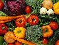 Овощи, фрукты и грибы замороженные в ящиках