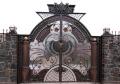 Ворота входные элитные