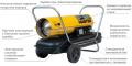 Нагреватели мобильные прямого действия без отвода отработанных газов(керосин, дизельное топливо) MASTER
