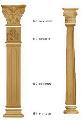 Мебельный декор, пилястры, колонны, капители