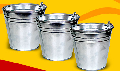 Ведра оцинкованные емкостью 5, 7, 10, 12 и 15 литров, изделия для хранения и переноски жидких, сыпучих не пищевых продуктов.