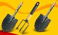 Лопаты, вилы бытовые для работы на садовых участках и строительных объектах