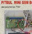 GSM PITBUL MINI Alarm system BOXING set (accumulator 7 A*Ch)