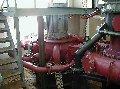 Турбина ковшовая (турбина Пелтона) вертикальный вариант исполнения