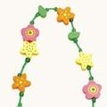 Бусы цветы