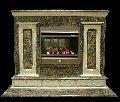 Каминный портал  из мрамора.