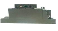 The thermotunnel for PVC, software and PE of films PE-4535. The equipment is packaging automatic