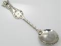 Ложка детская, серебро Ag 925° пробы, ложечки из серебра, столовое серебро, ювелирные изделия, купить