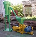 Cars, equipment for crushing and crushing of cement and sand