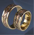Кольцо обручальные золото Au 585° пробы