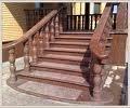 Ступеньки гранит, Коростышев, Украина (Лестницы, ступени и перила, Элементы декоративно-отделочные, архитектурные формы, ограждения)