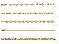 Браслеты, цепочки плетение, украшения с золотым покрытием,  ювелирный кобальтовый сплав, покрытый золотом 750 пробы и защитным покрытием «Acryseal». 5 летняя гарантия на покрытие, кристаллы Swarovski