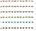 Браслеты женские: ювелирный кобальтовый сплав, покрытый золотом 750 пробы и защитным покрытием «Acryseal». 5 летняя гарантия на покрытие, кристаллы Swarovski