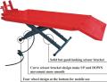 MO-100. Мотоцыклетный предвижной ножничный пневмо подъемник, грузоподъемностью 460-550 кг.