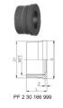Втулки муфт без резьбы, PVC-U NPT (ASTM)