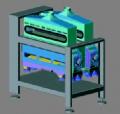 Машина ситовеечная СМВ-1. Оборудование для сортирования промежуточных продуктов размола зерноперерабатывающих предприятий и мукомольных мельниц