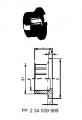 Втулка клапана тип 546 PE-100 (G40) С раструбом для сварки, метрический
