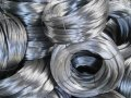 Steel wire of round section for production of ropes