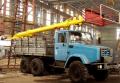 Вышка телескопическая ТВ-26Е для подъёма рабочих с инструментом при строительно-монтажных эксплуатационно-ремонтных работах на высоковольтных линиях электропередач, связи, ремонте и окраске зданий и сооружений.