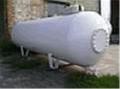Резервуар наземный с бок. люком 400мм 4,85м3 производства VPS, Deltagaz Чехия. Емкости промышленные