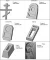 Формы для изготовления памятников
