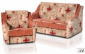 "Set of upholstered furniture ""American Montana"