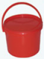 """Емкость-контейнер одноразовый для сбора медицинских отходов """"Киль-К"""", класс В (красный), 3л"""