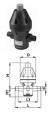 Клапан поддержания давления тип V 786, PVC-UС патрубками для клеевого соединения