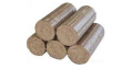 Fuel briquettes of 100% oak NOVINKA diameter are 95 mm, length is 200 mm. Briquettes are fuel