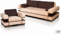 "Set of upholstered furniture of ""Techn"
